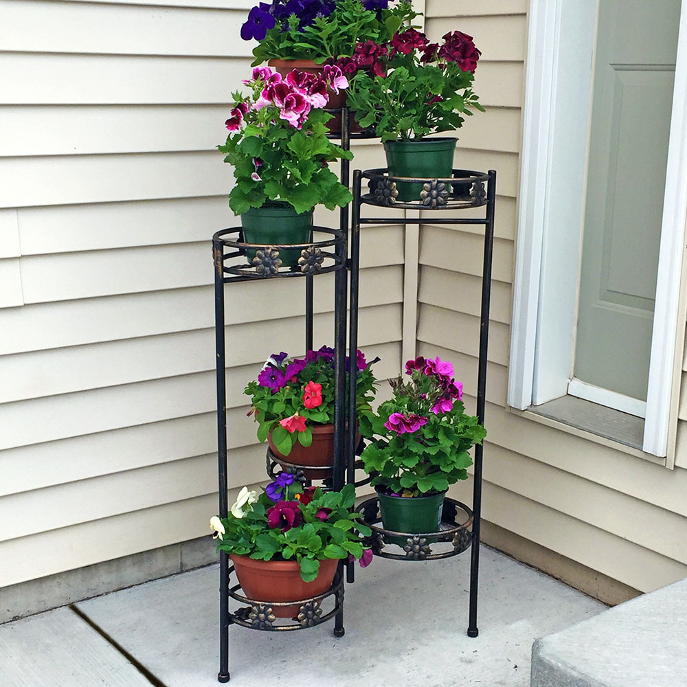 Tiered Folding Plant Stand