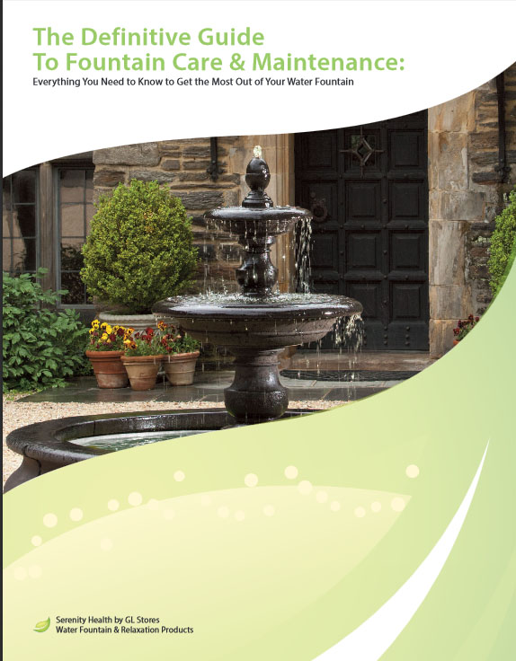 water fountain care and maintenance guide