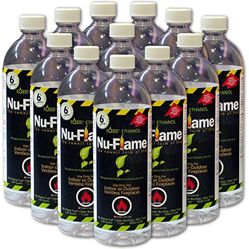 Bluworld Nu Flame Bio Ethanol Fuel Pack Picture 599