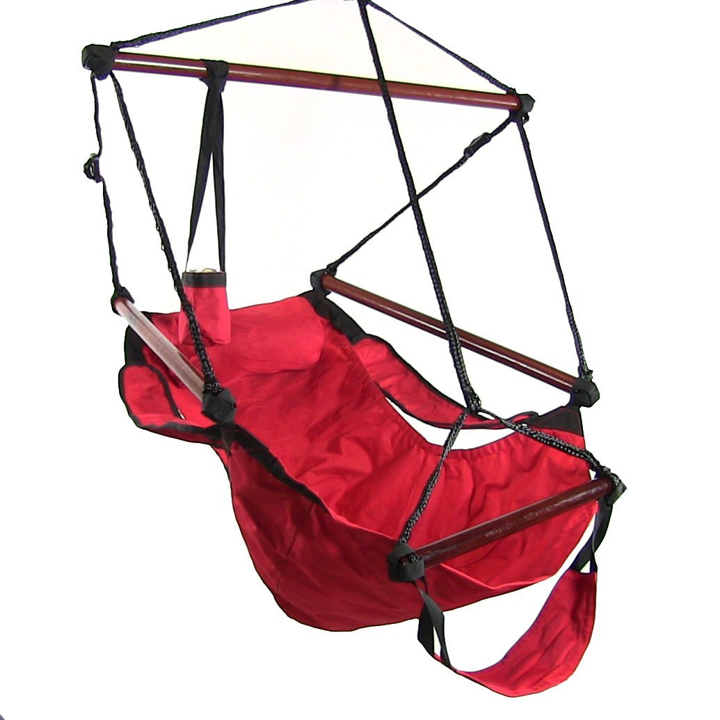 Hanging Hammock Chair w Accessories or Hammock & Stand bo Choose Options