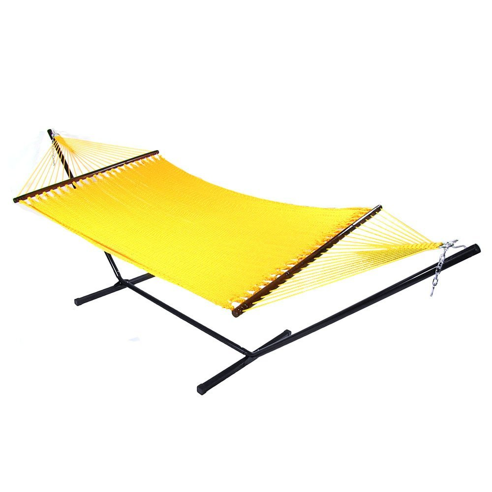 Sunnydaze Jumbo Caribbean Soft Spun Tightly Woven Polyester Rope Hammock Sp Picture 274