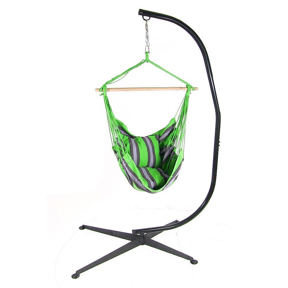 Hanging Hammock Swing C Stand Combo Sunnydaze DĂcor  Picture 477