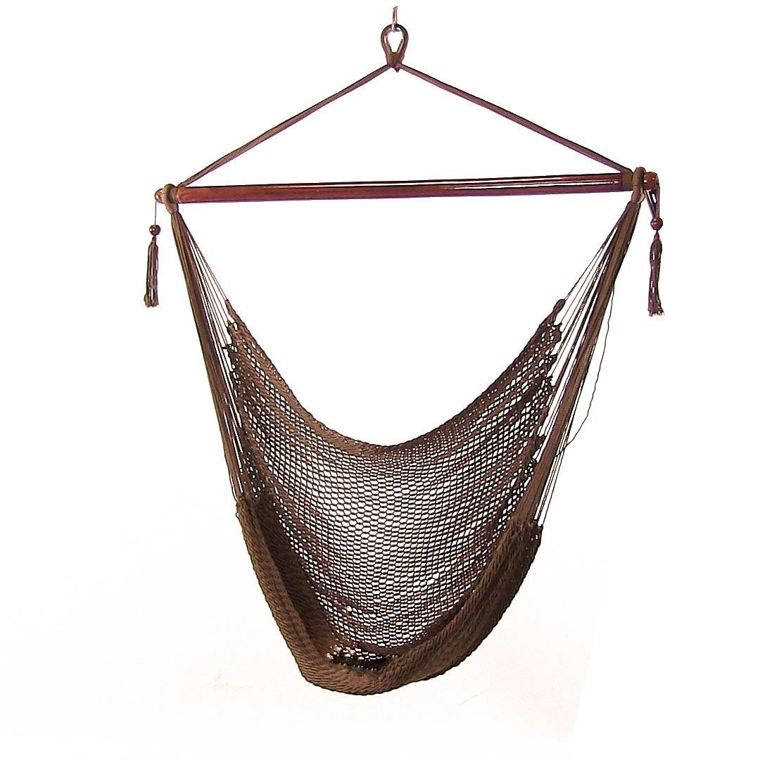 Sunnydaze Hanging Caribbean XL Hammock Chair  Picture 759