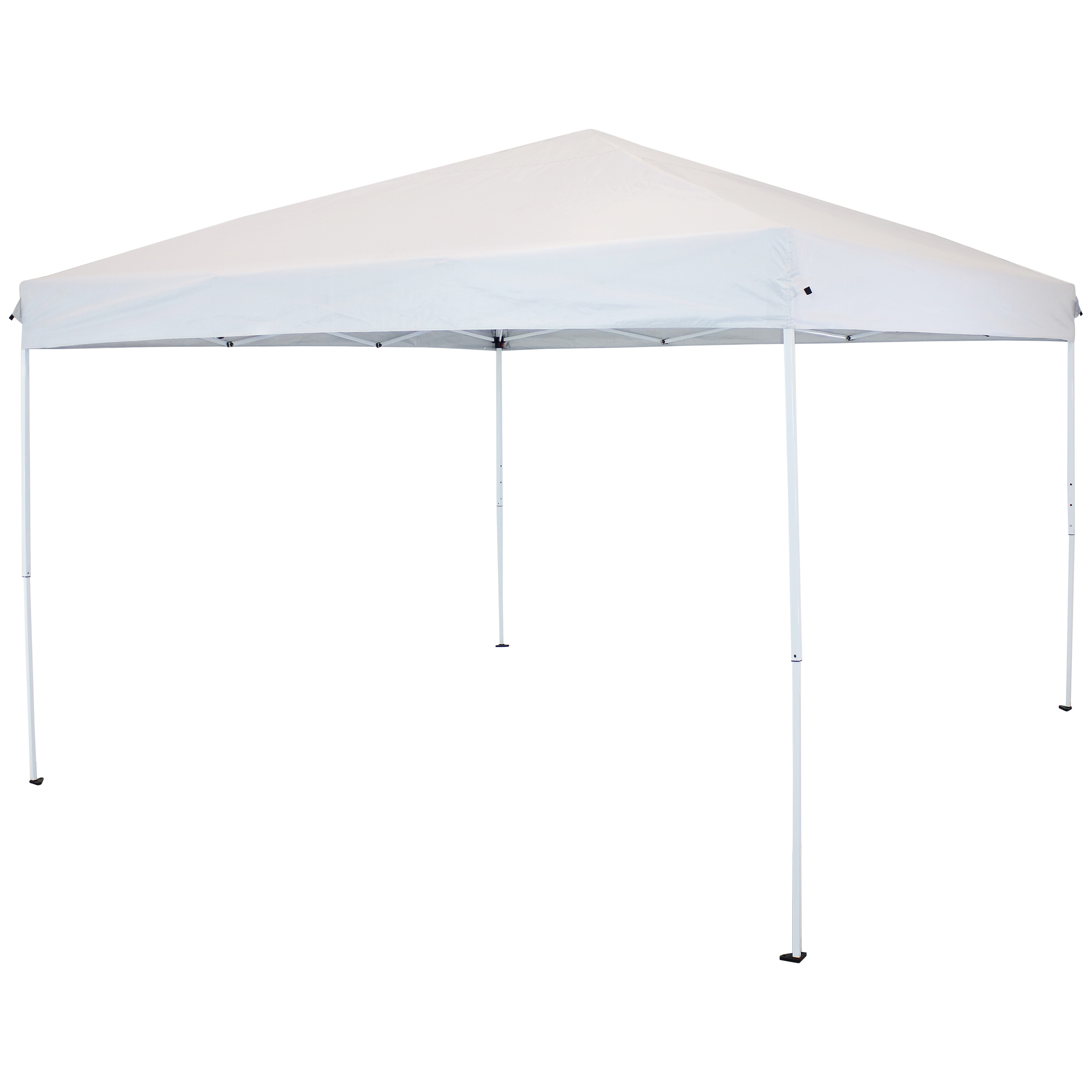 12 x 12 Foot Quick Up Steel Frame Canopy with Carrying Bag White