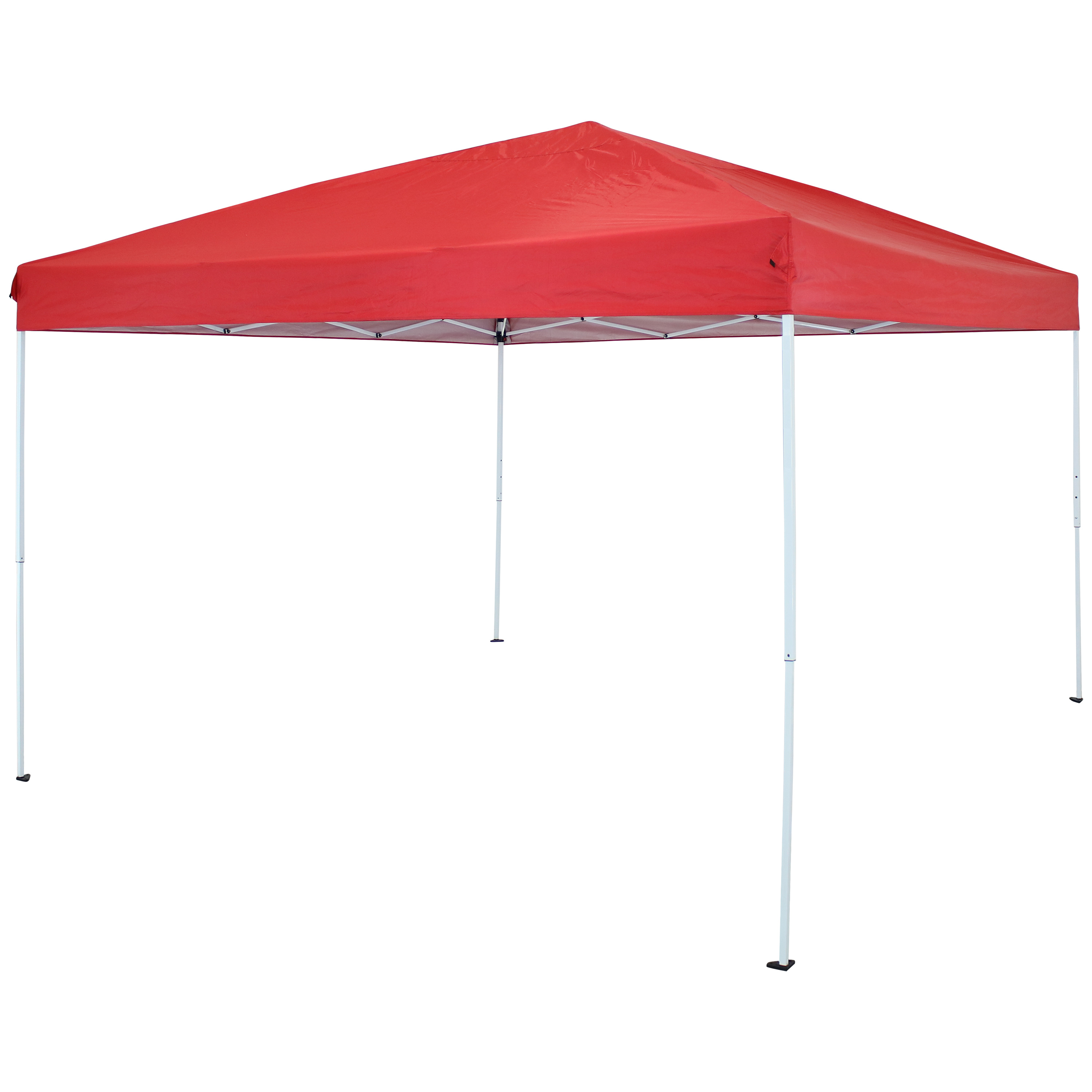 12 x 12 Foot Quick Up Steel Frame Canopy with Carrying Bag Red