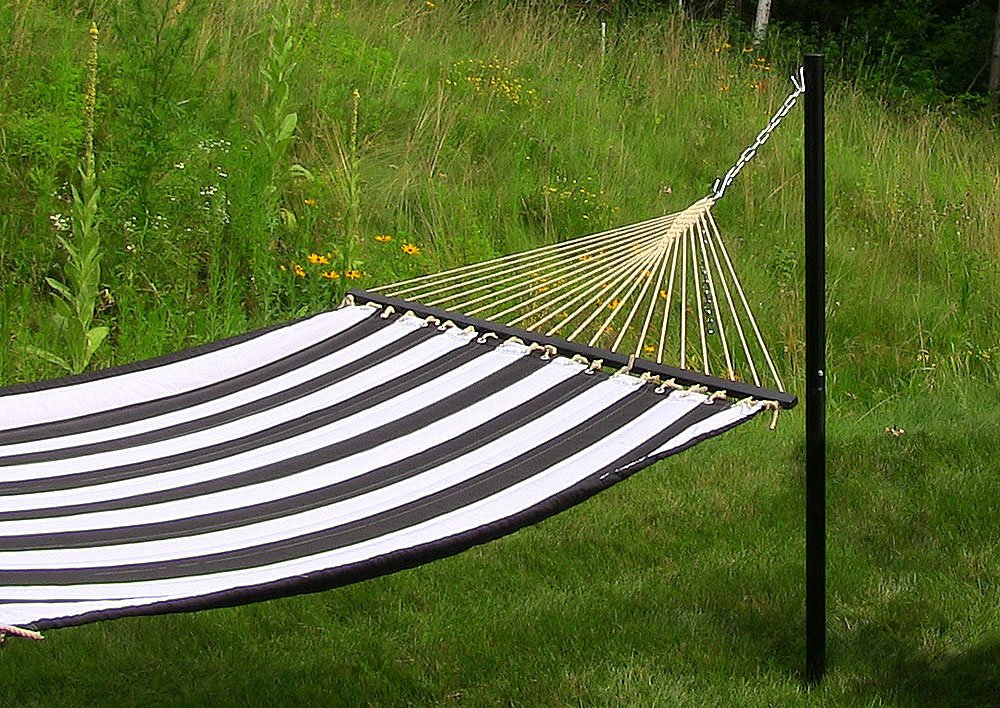 Steel Hammock Post