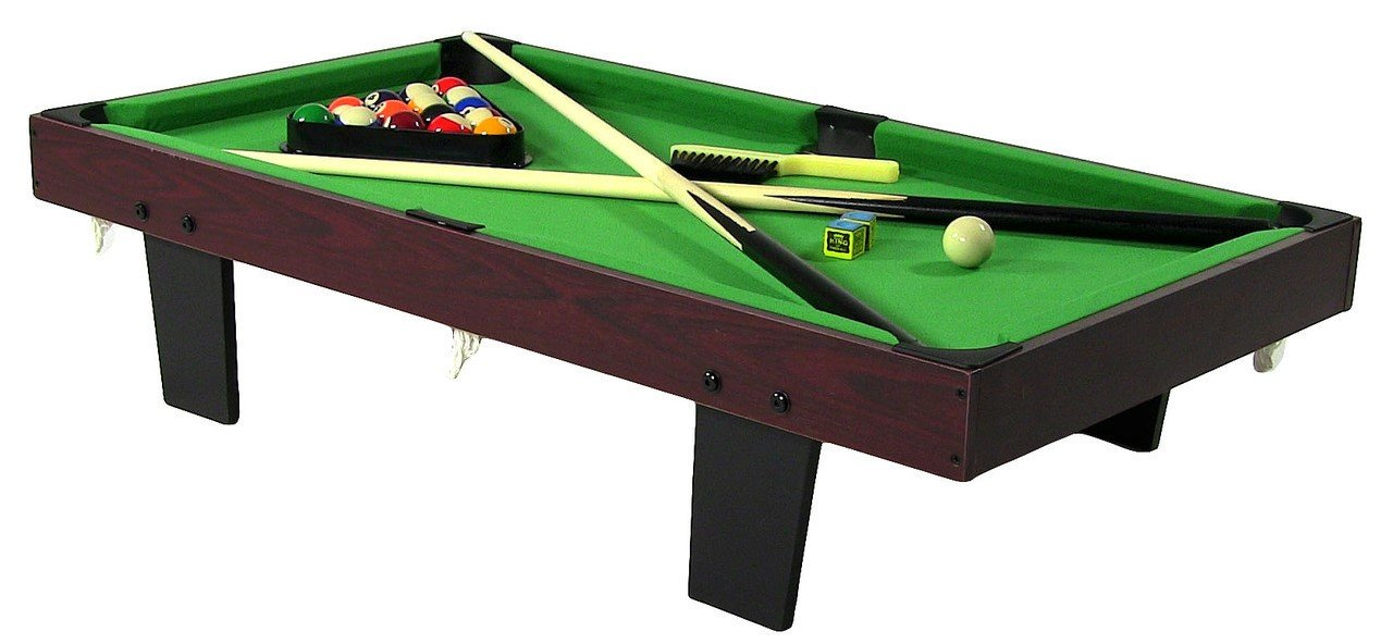 36 Inch Tabletop Pool Table