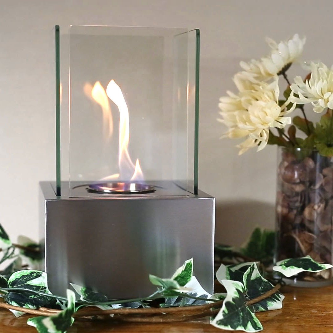 Cubic Bio-Ethanol Tabletop Fireplace